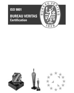 Certificaten ISO - FSC - MVO en Gouden-Z - Business en EGIN Awards van Graphiset